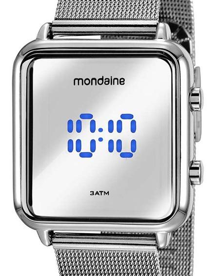 Relógio Mondaine Digital Led Feminino 32008m0mvne5 Prata