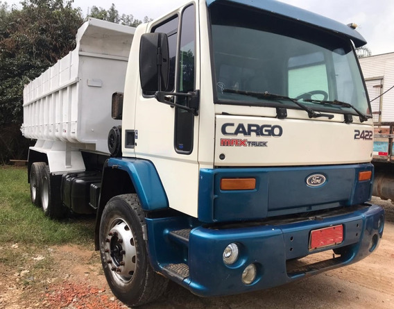 Ford Cargo 2422 - 6x2 - 2004 - Caçamba - Pronta Entrega
