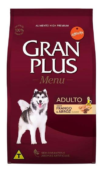 Ração Gran Plus Menu Cães Adultos Frango - 20kg