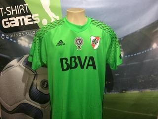 Camisa Do River Plate Usada Em Homenagem À Chapecoense 2016.