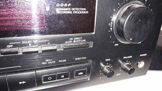 Tape Deck Jvc Td-r472 Direct Drive 2cab. Dolby B C