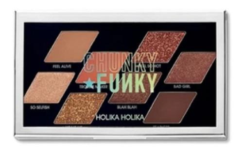 Maquillaje Paleta De Sombras Chunky Funky Holika Holika