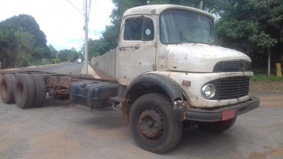 Mb 2219 Chassi 6x4 Canavieiro Traçado Ano 1980 Valor 28.000