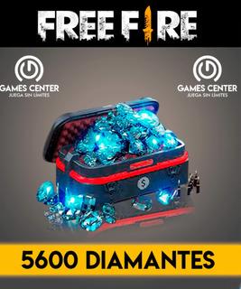 5600+110% Diamantes En Free Fire Descuento De Black Friday