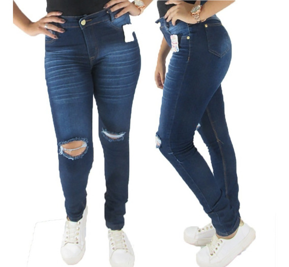 Calças Jeans Feminina C/lycra Kit 10 Roupa Feminina Atacado