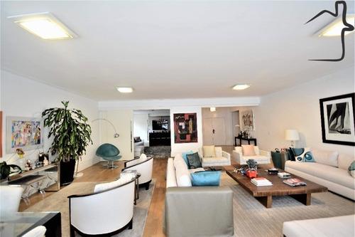 Apartamento A Venda Com 4 Dormitórios 3 Vagas Em Higienópolis - Ap00655 - 34738828