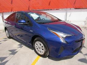 Toyota Prius 2017 Azul Premium Comonuevo 3 Años De Garantia