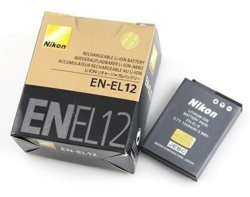 Bateria En-el12 Nikon Coolpix Aw120 S9700 P330 S31 S6 S640