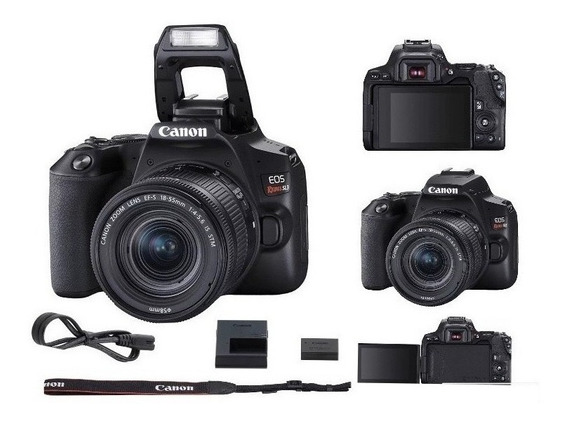 Câmera Canon Sl3 18-55mm Is Stm 4k Wifi Revenda Autorizada