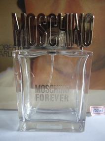 Perfume Moschino Forever 100ml Vazio P/colecionador 45