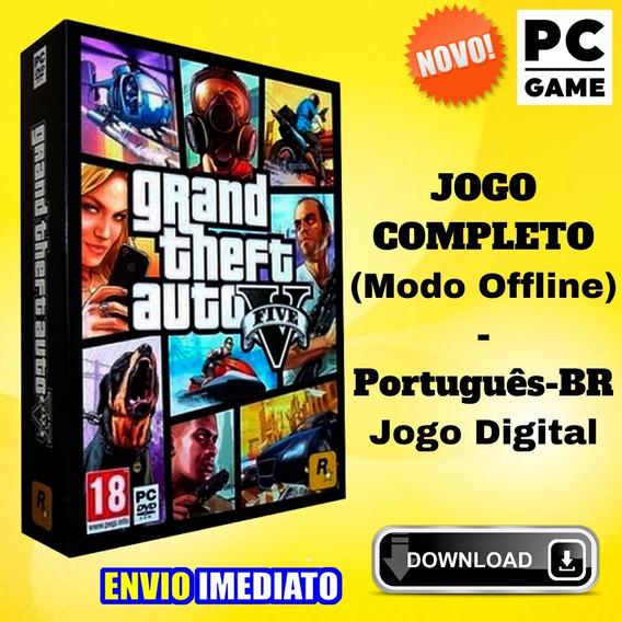 Grand Theft Auto V - Gta 5 - Pc - Envio Imediato