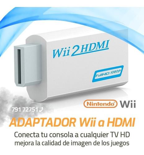 Adaptador Video Nintendo Wii A Hdmi