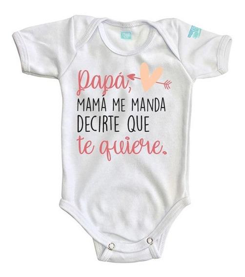 Pañalero Mama Me Manda Decirte San Valentín Bebé Baby