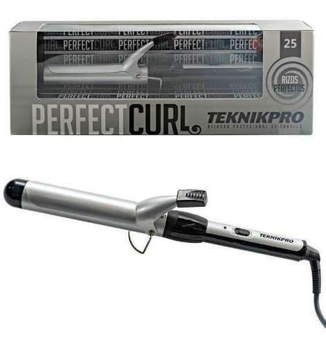 Teknikpro Perfect Curl Buclera Profesional Pelo Ondas 25mm