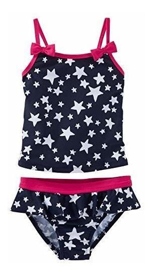 Oshkosh B Gosh Baby Girls Star Print Tankini - 6 Meses