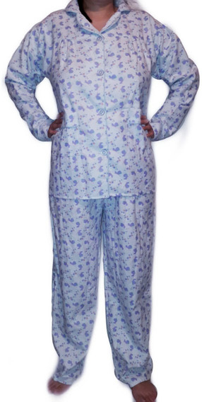 Pijama Franela Dama Tallas 34 A La 40