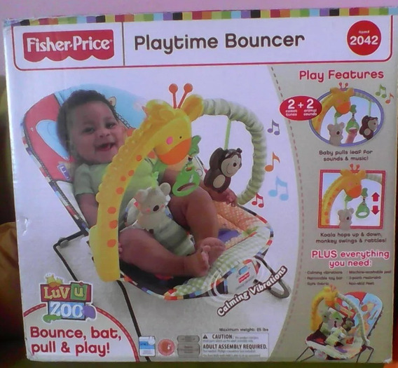 Silla Vibratoria Musical Para Bebes Fisher Price