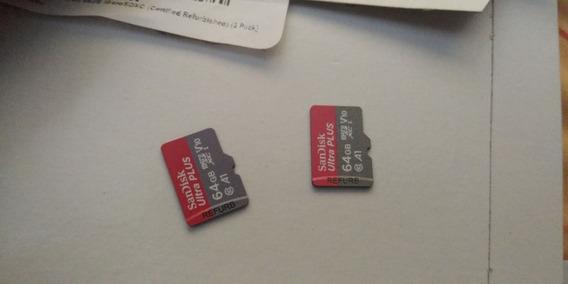 Mini Sd Memoria De 64gb Ultra Rapidas