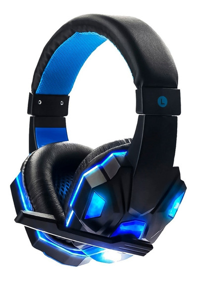 Headset Gamer Fone Ouvido Ps3 Ps4 Pc Led Exbom Celular Cs Go