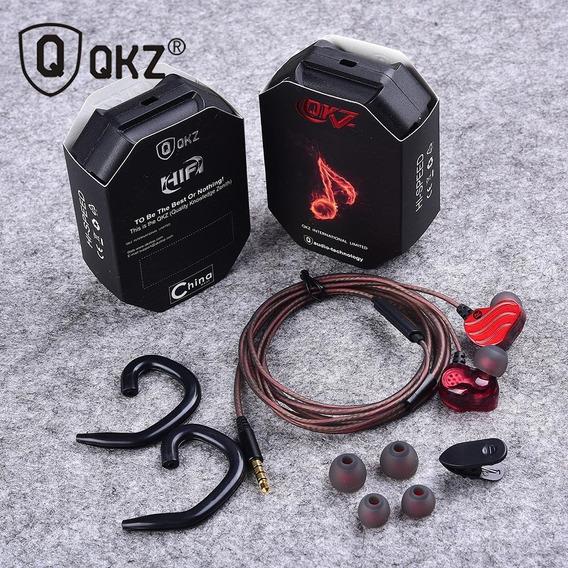Fone Qkz Kd4 +mic P/retorno De Palco E Dispositivos De Som