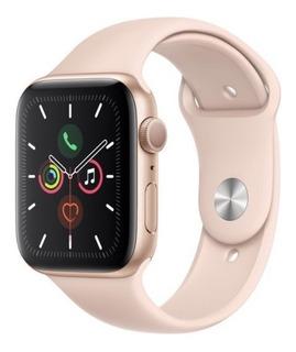 Apple Watch Serie 5 44mm S5 Rose Gold Pink Sand Lacrado