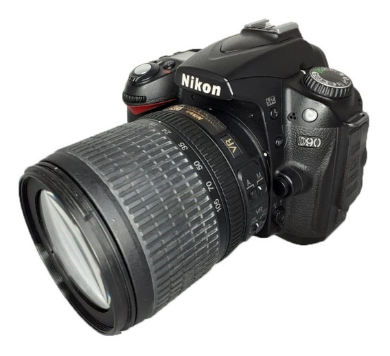 Câmera Nikon D90 Seminova + Lente 18-105mm Impecáveis Dslr