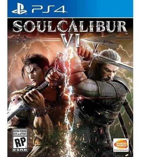 Jogo Ps4 Soulcalibur Vi - Novo - Lacrado
