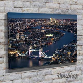 Cuadros Lienzo 75x50 Ciudad Londres Inglaterra Viajes Y Más