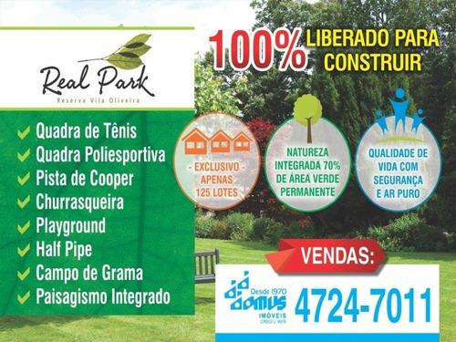 Terreno Vila Oliveira Mogi Das Cruzes/sp - 2324