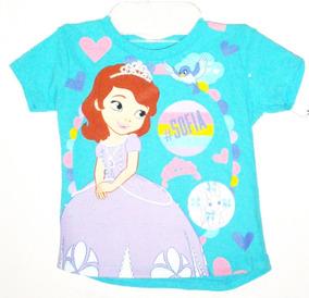 Playera Niña Princesita Princesa Sofia Disney Original Baby