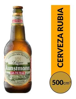 Cerveza Kunstmann Lager Sin Filtrar 500 Ml ! Super Oferta !!