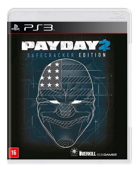 Payday 2 Safecracker Edition Ps3 Mídia Física
