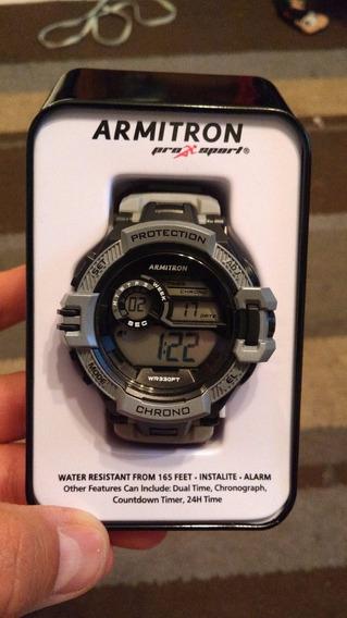 Reloj Armitron Pro-sport 40/8383 Gris *envio Gratis*