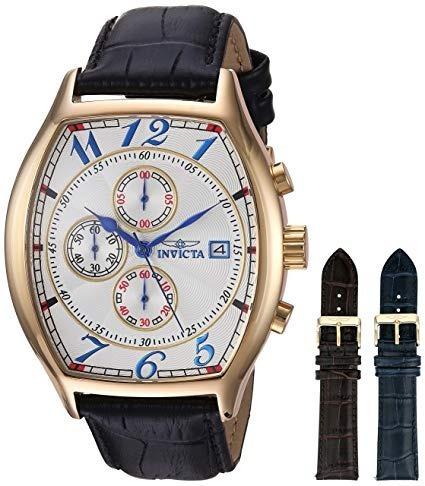 Relógio Invicta 14330 Specialty Banhado + 2 Pulseiras