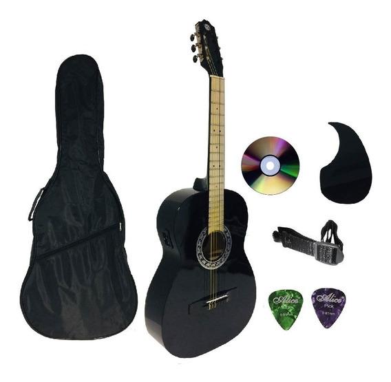 Paquete Guitarra Electroacùstica Equalizador Ps-900