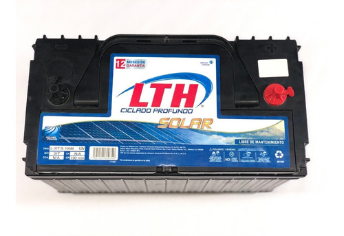 Bateria Lth Solar