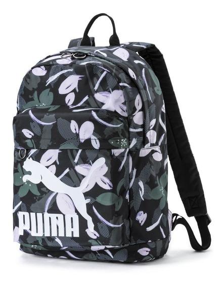 Mochila Puma Originals Floreada De Mujer