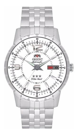 Relógio Orient Automático Original Branco Clássico 469ss034