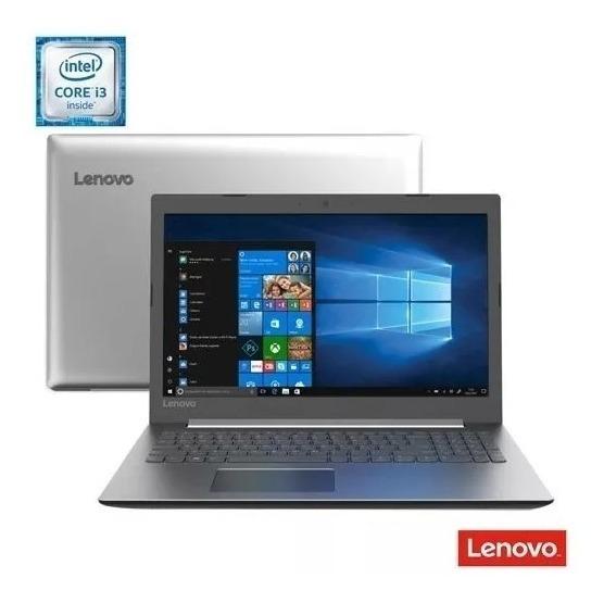 Notebook Lenovo, Intel® Core® I3 - 6006u, 4gb, 1tb, Tela15,6