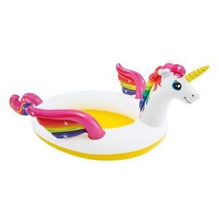 Pileta Inflable Intex Unicornio Spray Piscina Infantil