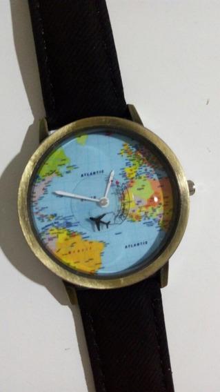 Relógio Mundo Aviação