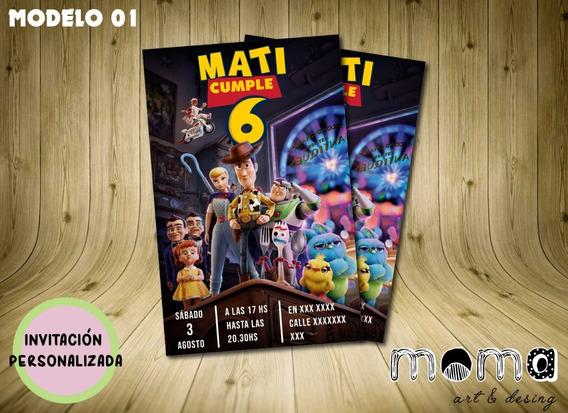 Invitaciones Imprimibles Y Digitales - Toy Story