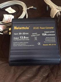 Power Conversor Motormate Dc-dc 20-32 10amp Output 13.8v