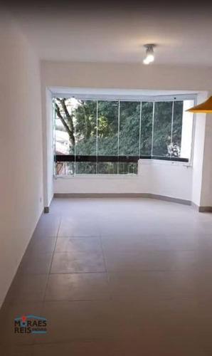 Apartamento Para Alugar, 63 M² Por R$ 3.500,00/mês - Pinheiros - São Paulo/sp - Ap16135