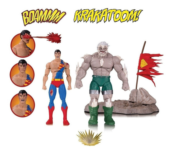 Dc Collectibles The Death Of Superman Doomsday & Superman