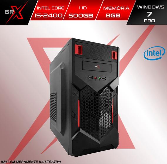 Computador Brx I5 2400 8gb 500gb Win 7 Pro