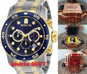 Relógio Invicta 0077 Na Caixa. Original. Leia O Anúncio.