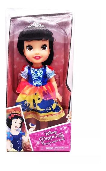 Boneca Disney Princesas Branca De Neve Olhos Reflexivossunny