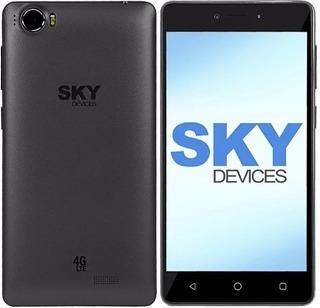 Celular Sky Devices Elite 5.0p 5.0 8gb 4g Lte Cinza