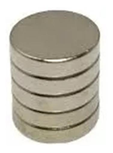 100 Imanes De Neodimio 9x2 Mm Ultrapotentes